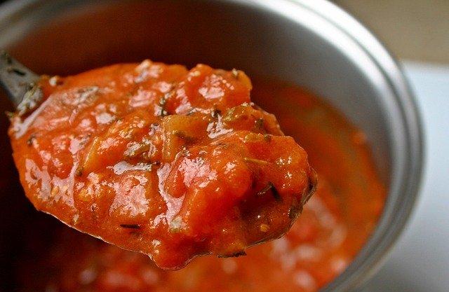 La sauce tomate origan