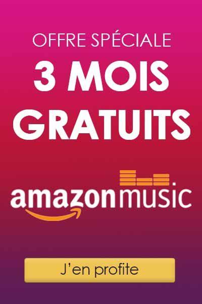 Offre de découverte Amazon Music